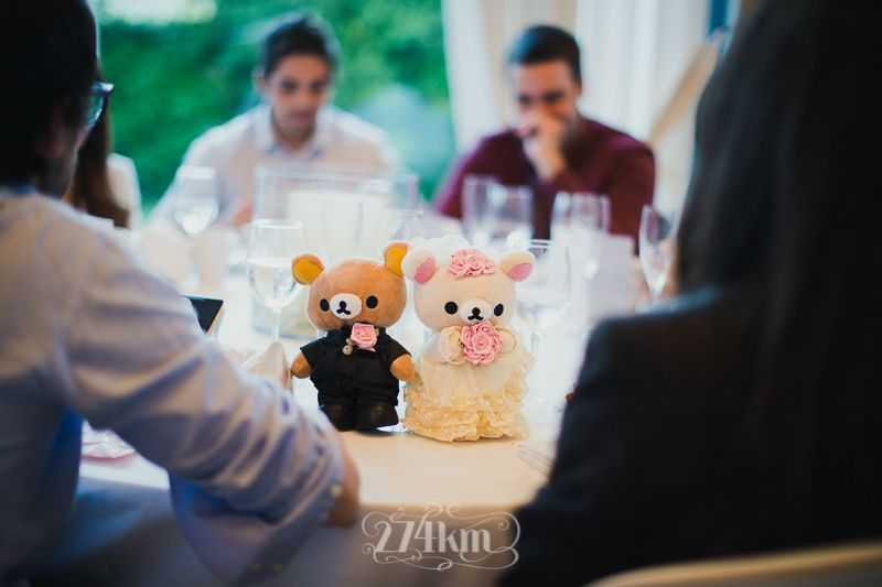 novios osito boda