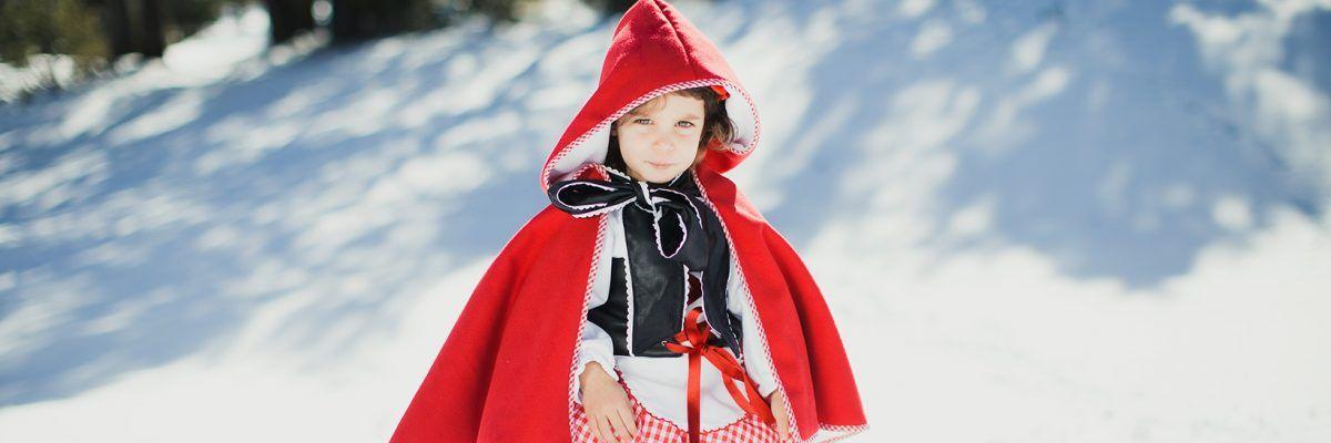 Frozen y caperucita roja