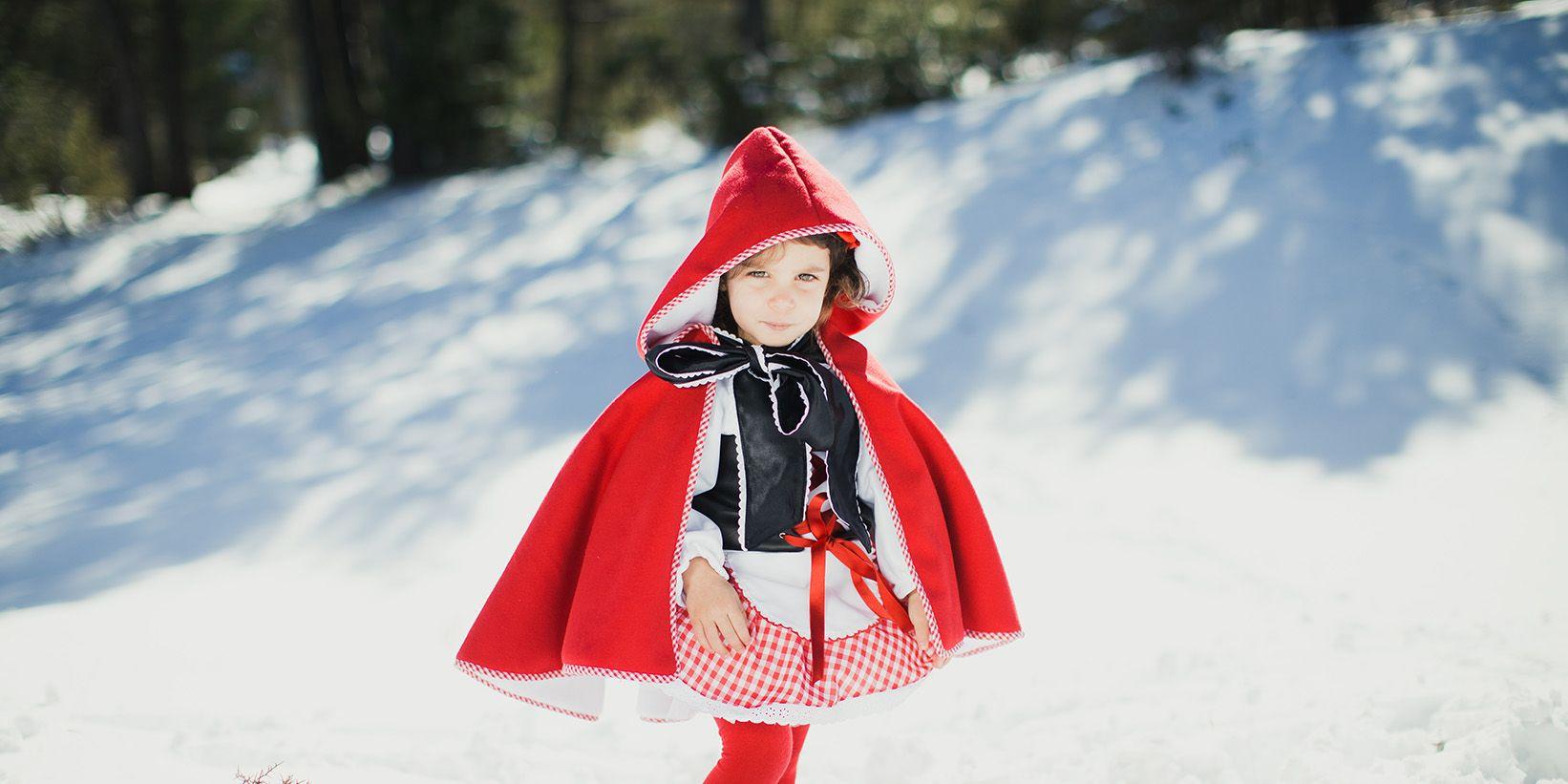 sesión de fotos frozen y caperucita roja en la nieve (21)