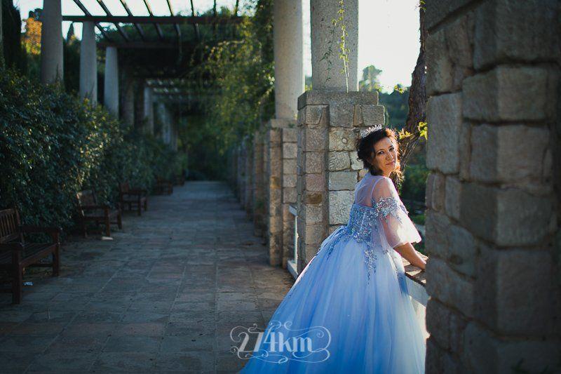 Sesión de fotos de princesa en exterior en barcelona (2)