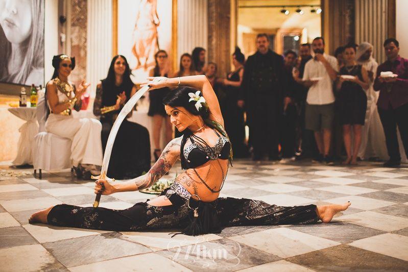 danza tribal amaru sabat boda egipcia barcelona
