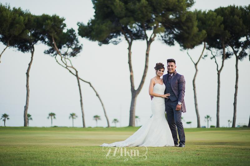 Sesiones fotográficas de bodas en clubs de golf